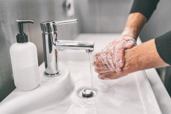 vaske hendene, smittevern