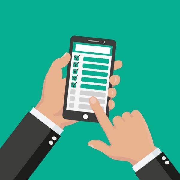 digitale sjekklister for smittevern