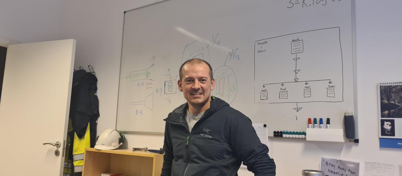 Håkon Hansen, Teknisk sjef i Norsk Spennbetong
