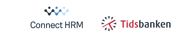 connect hrm og tidsbanken logo
