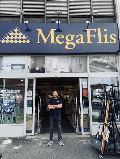 Patrick Nordkvelle varehussjef MegaFlis